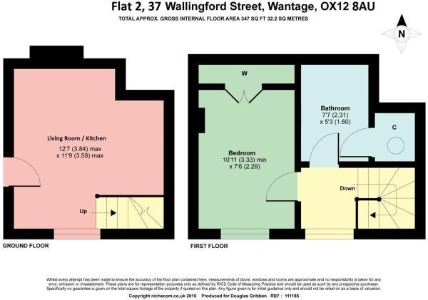 Floor Plan 2,37 Wall