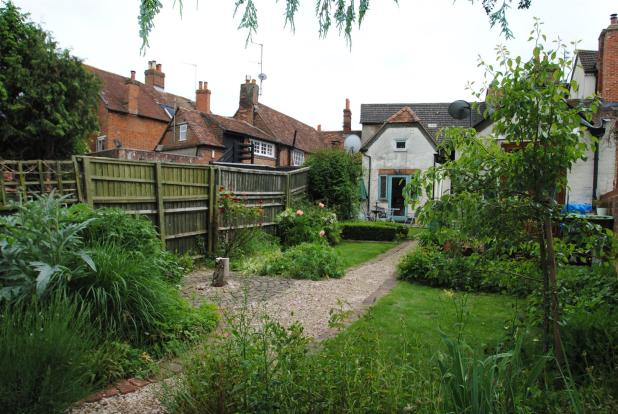 garden to property (