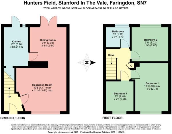 floor plan 59 Hunter