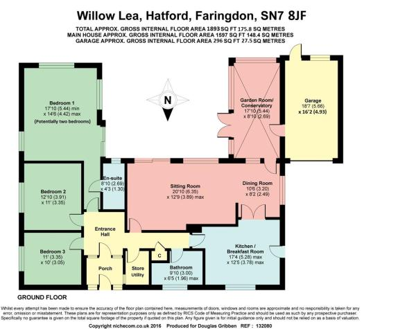 Floorplan Willow Lea