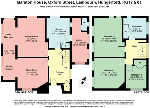 Floorplan Marston Ho