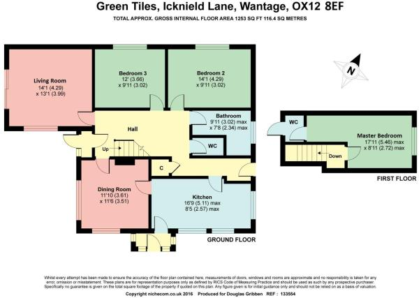 Floorplan Green Tile