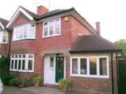 semi detached property in Coningesby Drive...