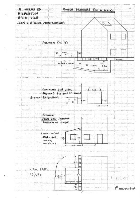 Extension drawings