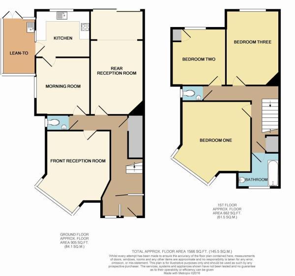 Floor Plan - 1 Chase