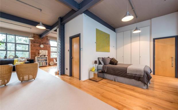 Bedrrom/Living Room