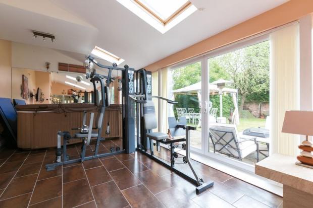 sun room / gym