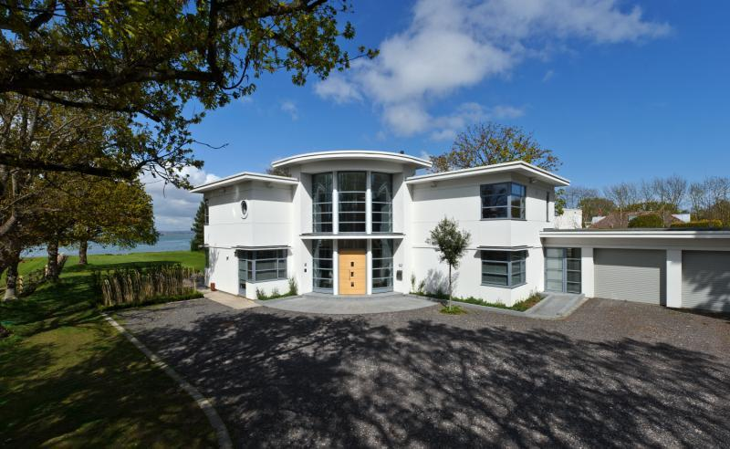 4 bedroom detached house for sale in hayling island for Modern house uk for sale