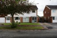 semi detached home in Knottingley Drive...