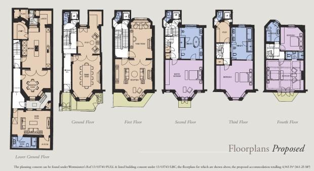 Terraced House For Sale In Park Lane Mayfair London W1k