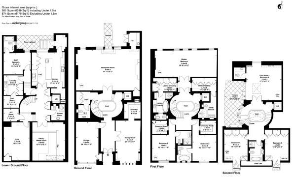 6 bedroom terraced house for sale in reeves mews london