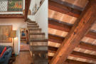 Stairs&wooden beams