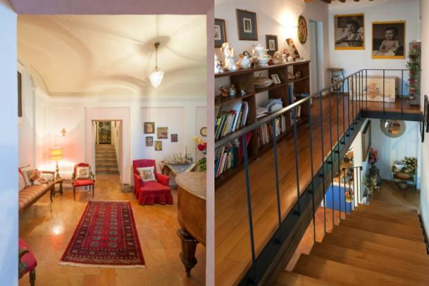 Corredor and stairs