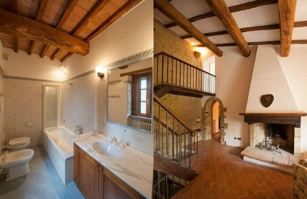 Bath&fireplace