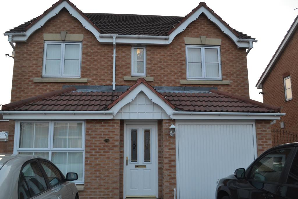 4 bed family home