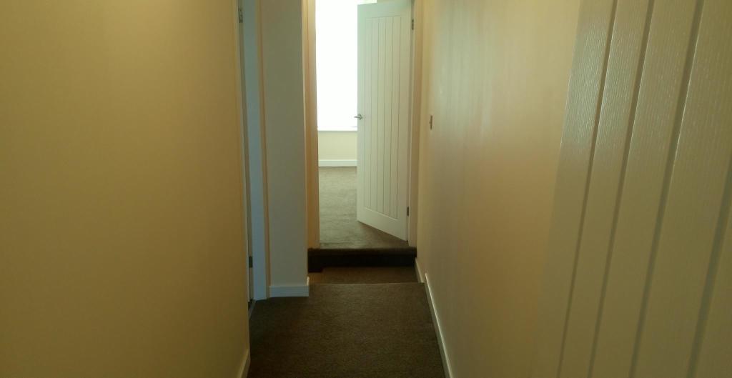 Light airy hallway