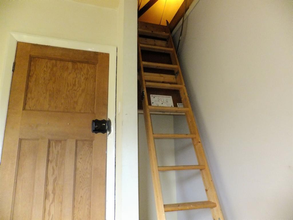 Ladder to Attic