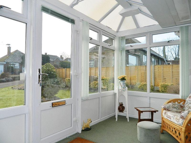 3 bedroom detached bungalow for sale in culverhayes chard for Detached sunroom