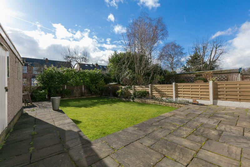 rear sunny garden