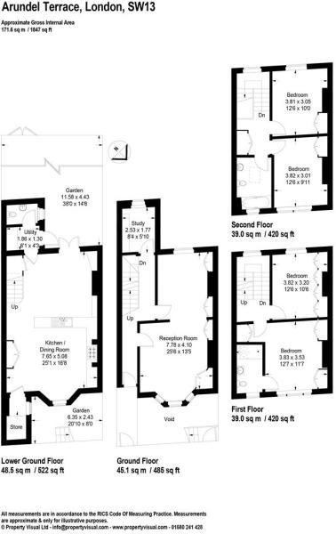 Floor plan - 8 Arund