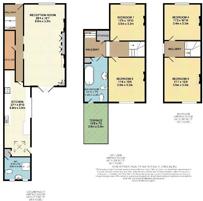4 bedroom house for sale in urlwin street se5 se5 for 1200 post oak floor plans