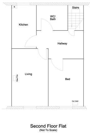 floor plan, second floor lfat 2
