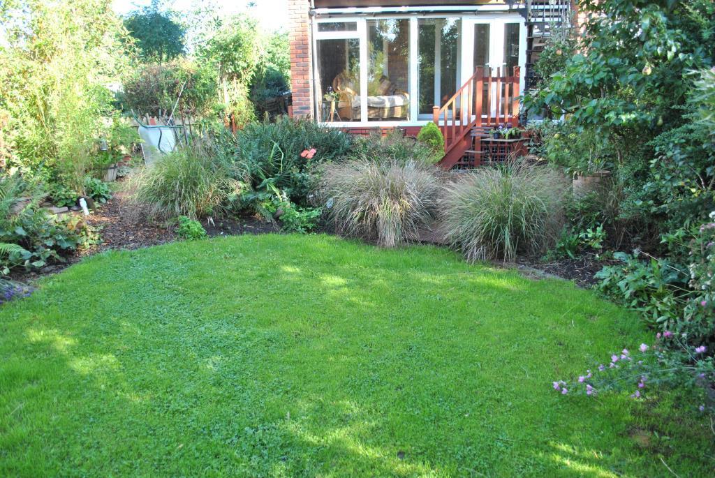 Lawned Garden