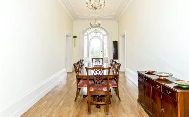 Hall/Dining Room