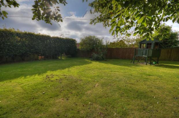 Hidden Garden with Play Area