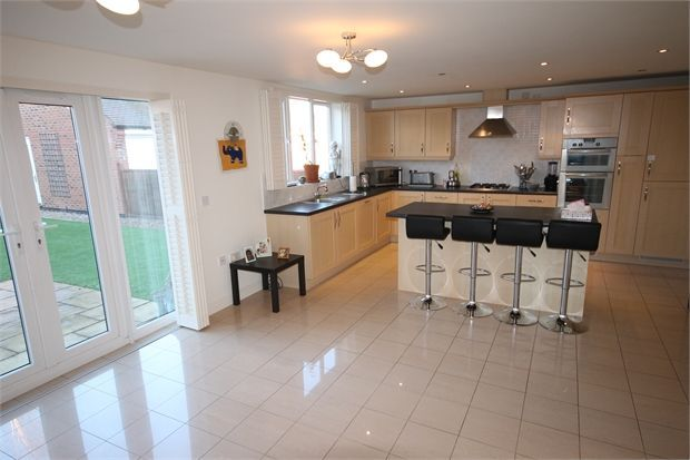 5 bedroom detached house for sale in dale way fernwood for Kitchen design 4m x 2m