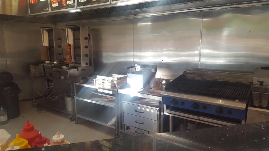 Grill kitchen area