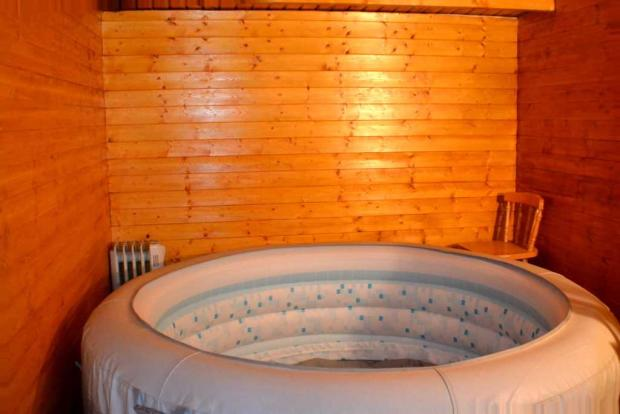 Hot tub shed