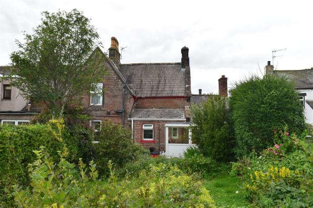 Rear of House from