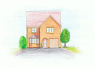4 bedroom new home in Plot 3, Field View...