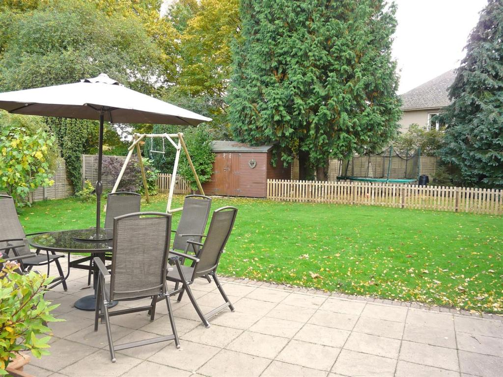 Garden Patio Area