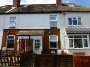 Terraced house in Brook Road, Rubery...