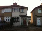 3 bed semi detached property in Oval Road North...