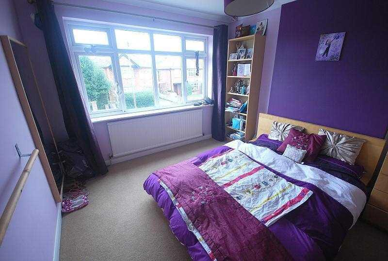 Bedroom 2 (note now re-painted a different colour)