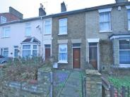 Terraced house in Burghley Road...