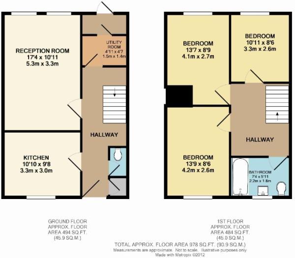 111 Nunhead floor...