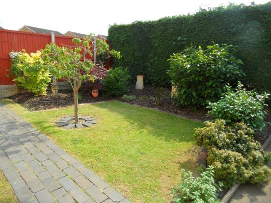 Private Front Garden