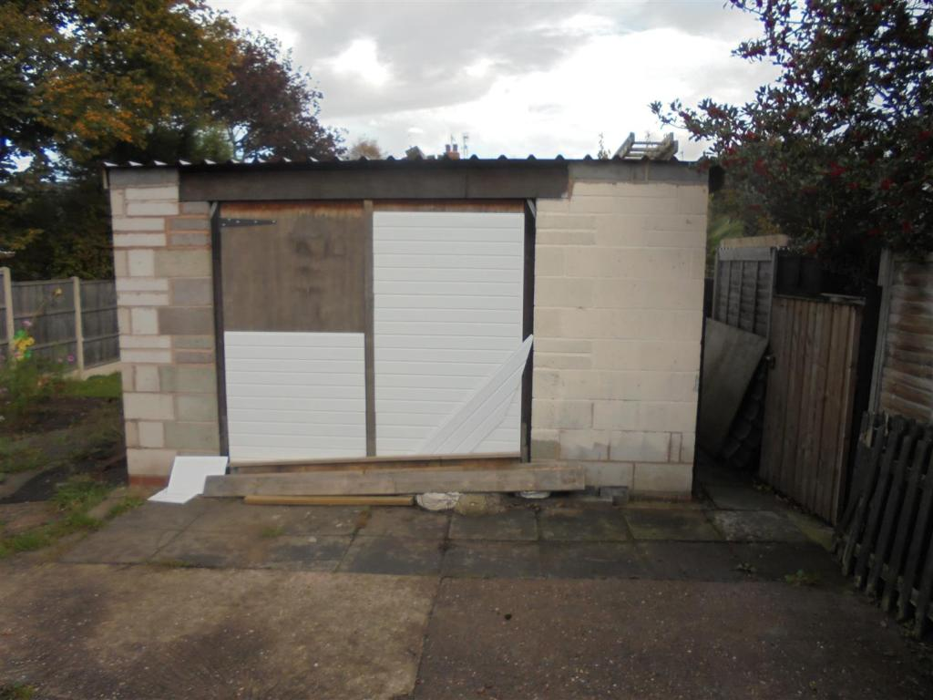 Garage To The Rear