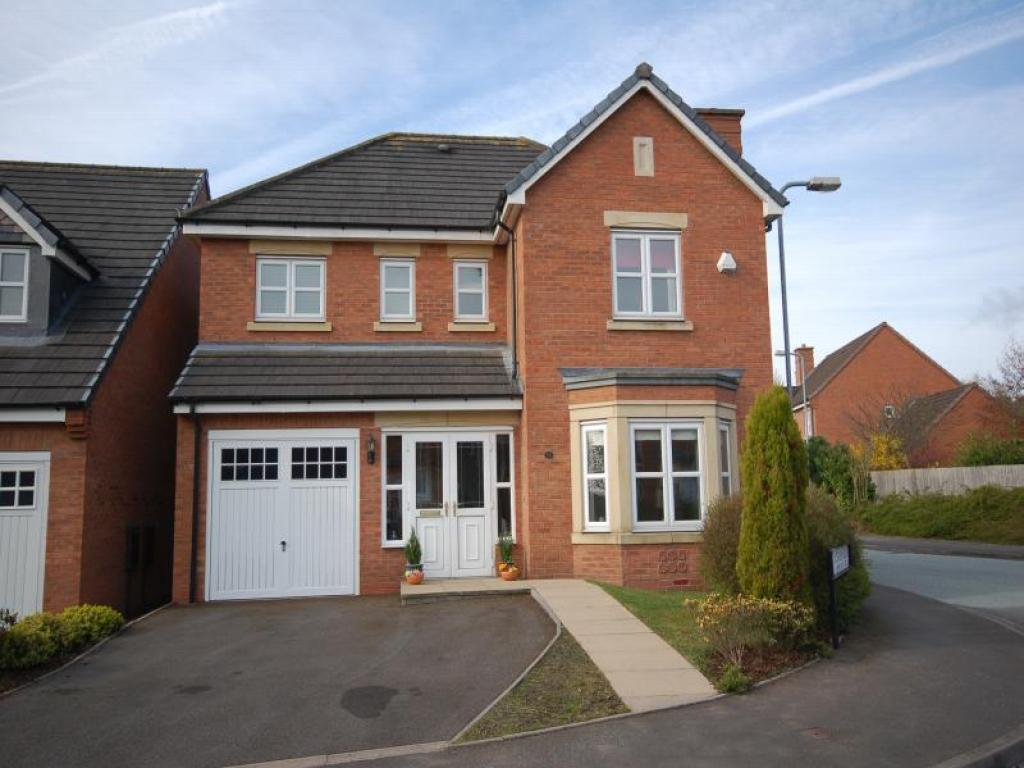 4 bedroom detached house for sale in alderson drive for Modern house uk