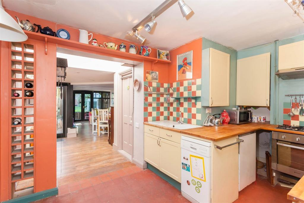 Kitchen into Rear Re
