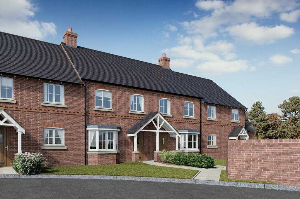 2 bedroom terraced house for sale in plot 12 whitefields