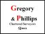 Gregory And Phillips, Abertillery logo