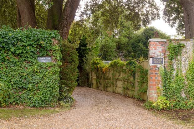 Pillared Entrance