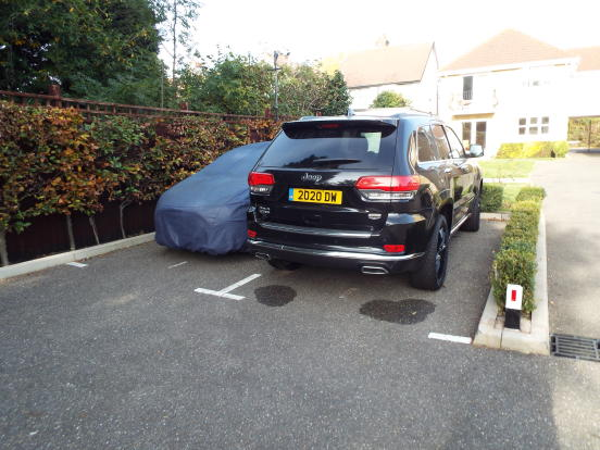 Two Parking Spaces