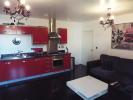 Open plan kitchen/living