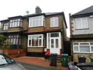 semi detached home in Belle Vue Road...
